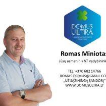 Romas Miniotas NT vadybininkas