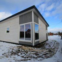 Parduodamas naujos statybos karkasinis 60kv/m namas !